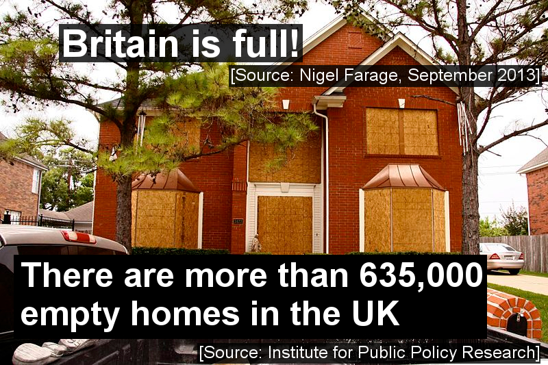 Britain is NOT full