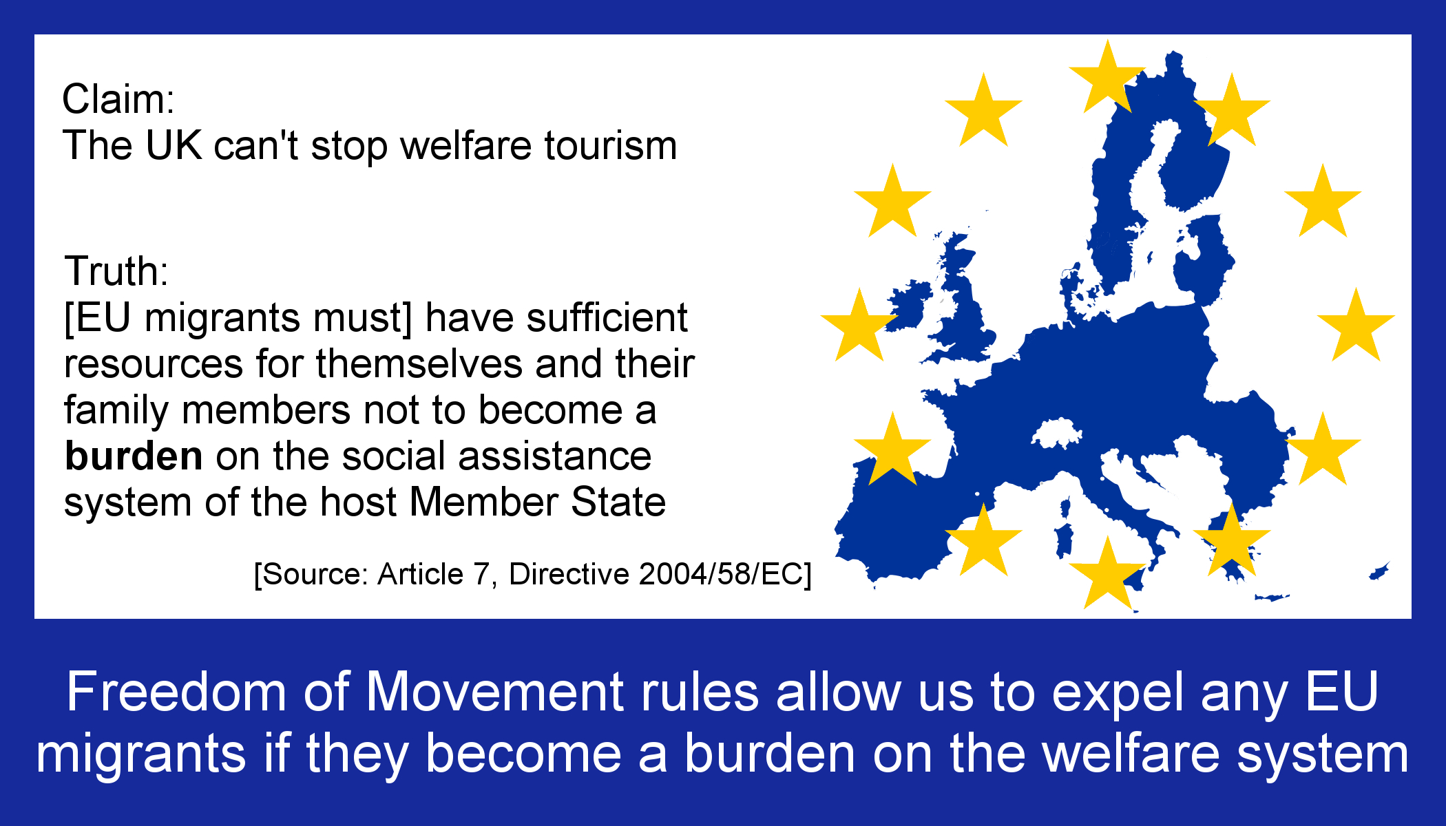 Britain has all the powers it needs to prevent welfare tourism